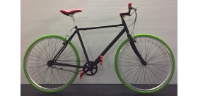 IMPERIA SINGLE SPEED 28 1V NERO VERDE ROSSO